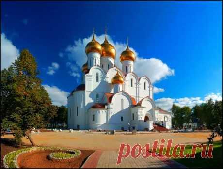 Достопримечательности Ярославля - Успенский собор