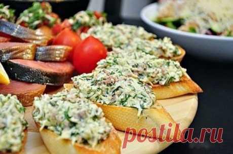 Бутерброды с печенью трески|Рецепт