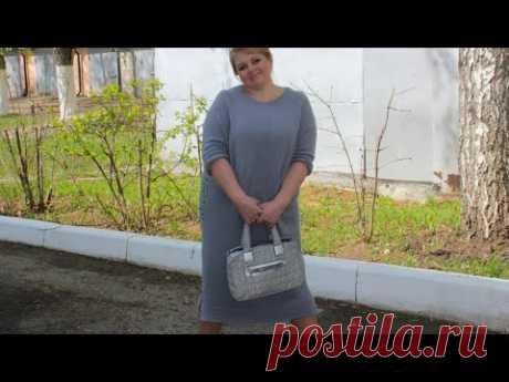 """Довязала!!!  Платье  """"Нежная дымка""""  #каксвязатьплатье #татьянакильмяшкина"""