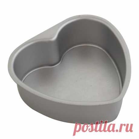 Алюминиевая форма со съемным дном Сердце: цена, купить в интернет магазине La-Torta Украина