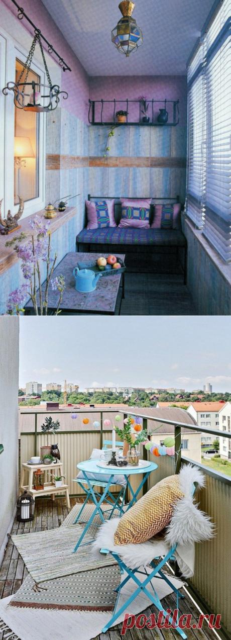 6 способов сделать маленький балкон любимым местом в квартире.