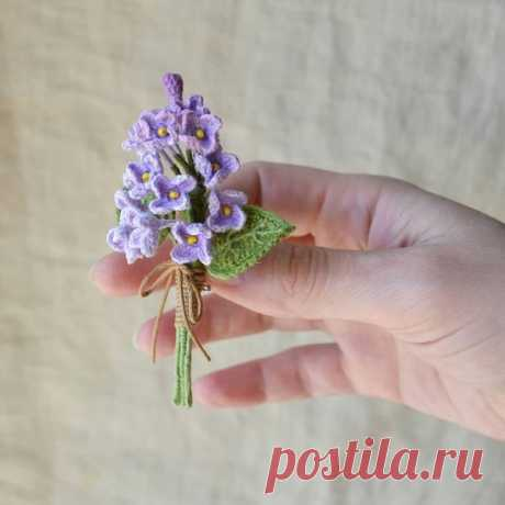 Брошки от pelyushenko_craft