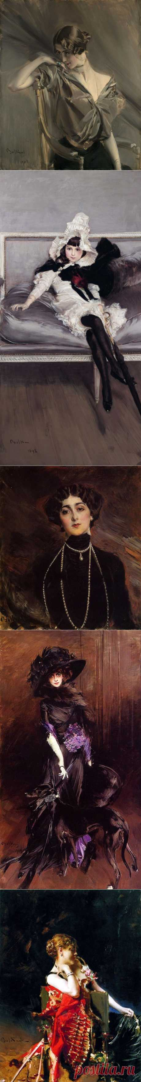 Итальянский живописец Джованни Болдини (1842-1931)