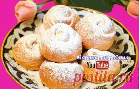 Сдобные булочки с малиновой начинкой | Марина Забродина | Яндекс Дзен