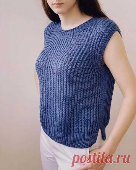Женский жилет спицами, больше 50 моделей со схемами и описанием, Вязание для женщин
