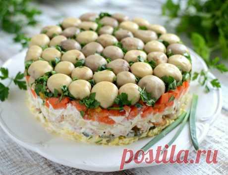 Mushroom Glade salad