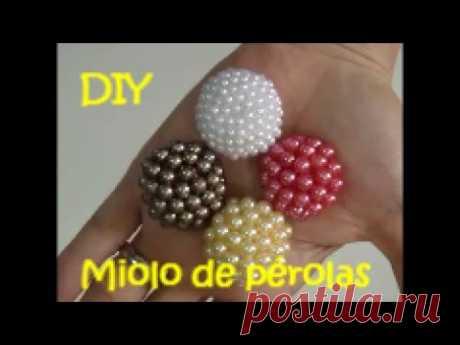 Miolo de pérolas fácil de fazer - DIY