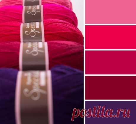 Как сочетать цвета при вязании - Домоводство - медиаплатформа МирТесен