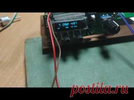 Трансивер Изюминка DX. макет в работе - YouTube