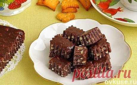 Шоколадно-ореховые тянучки - Простые рецепты Овкусе.ру