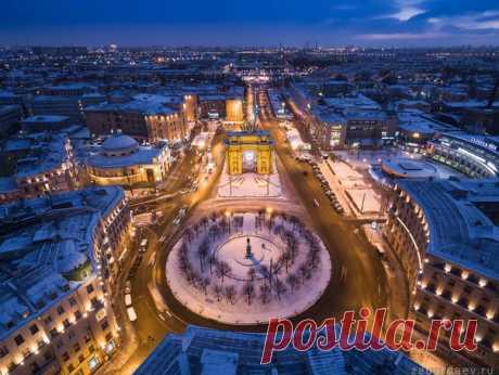 Нарвские ворота, Санкт-Петербург.