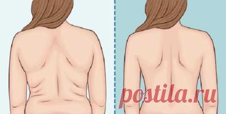 Минутное упражнение от жира на боках и спине: простое похудение в домашних условиях — ХОЗЯЮШКА