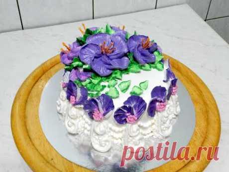 """УКРАШЕНИЕ ТОРТОВ, торт """"ЭВЕЛИН"""" от SWEET BEAUTY СЛАДКАЯ КРАСОТА, Cake Decoration"""