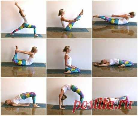 Последовательная йога для тех, кто много сидит.