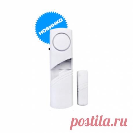 Звуковой датчик открытия Датчик устанавливается в дверной или оконный проем. Срабатывает при открытии двери или окна.