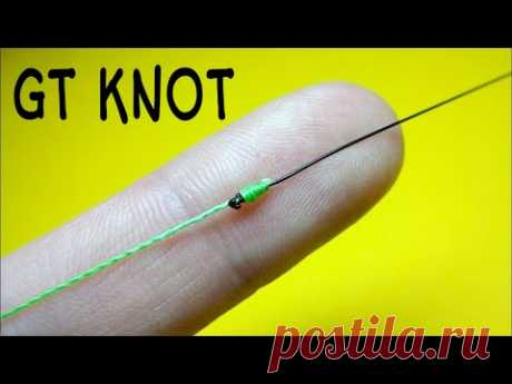 Друзья покажу вам отличный рыболовный узел, о котором мало кто знает, а именно как связать леску между собой. Соединительный узел gt knot. Этот узел очень эффективен и проверенный временем.