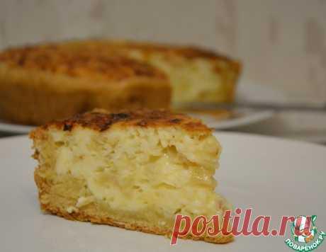 Открытый пирог из плавленых сырков – кулинарный рецепт