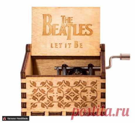 Шкатулка музыкальная 'Let It Be' купить в Беларуси HandMade, цены в интернет магазинах