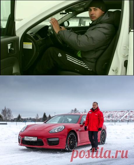 La escuela de la conducción invernal - la plantación correcta al volante