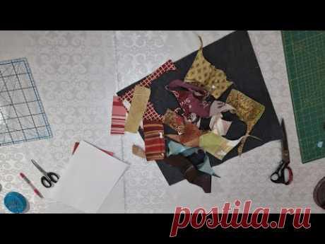 Лоскутное шитьё, аппликация на джинсе. Красивая утилизация лоскутков ткани.