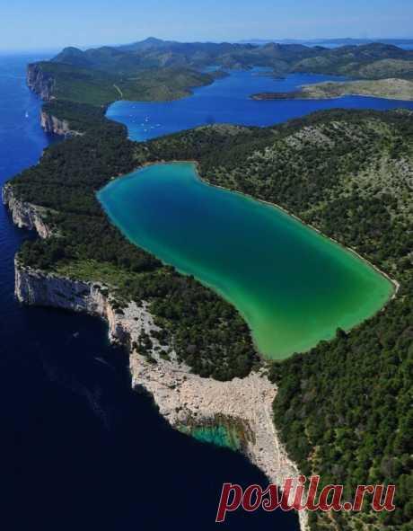 Телашчица — природный парк в Хорватии ...