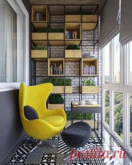 Прикольная идея для балкона