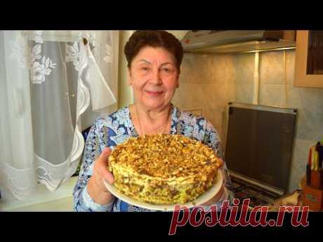 Торт НАПОЛЕОН ☆ Семейный СТАРИННЫЙ рецепт ☆ Крем - пломбир  Мамины рецепты