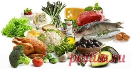 Balanced balanced diet. Basic rules.