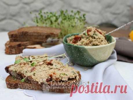 Паштет из семян подсолнуха — рецепт с фото Паштет для бутербродов, прекрасный перекус для сыроедов и веганов.