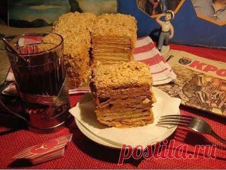 Подборка из 10-ти рецептов тортов из печенья!