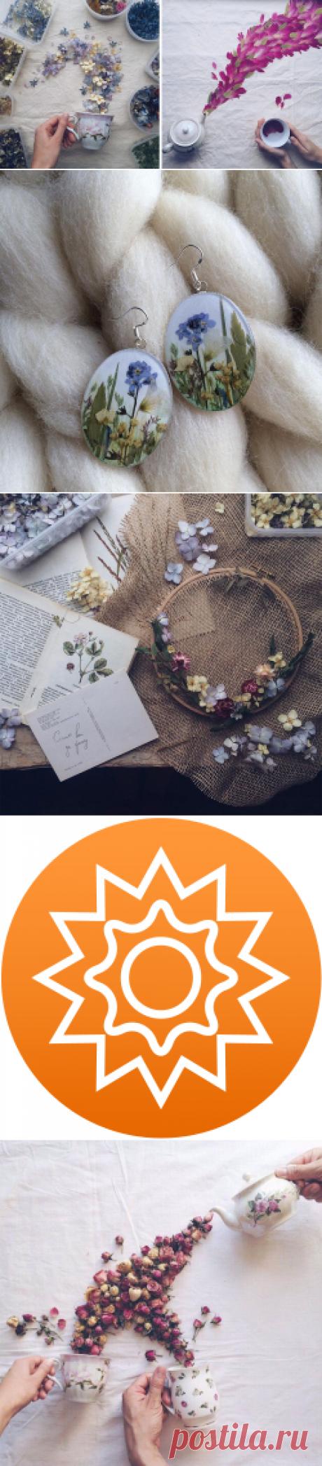 Как положить весну в шкатулку: цветочный рай Марины Малиновской - Ярмарка Мастеров - ручная работа, handmade