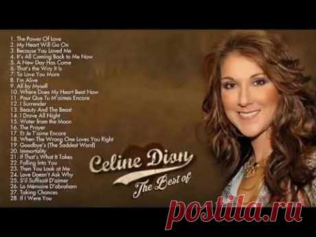 Celine Dion Greatest Hits Playlist - Celine Dion Love Songs - Best Of Celine Dion