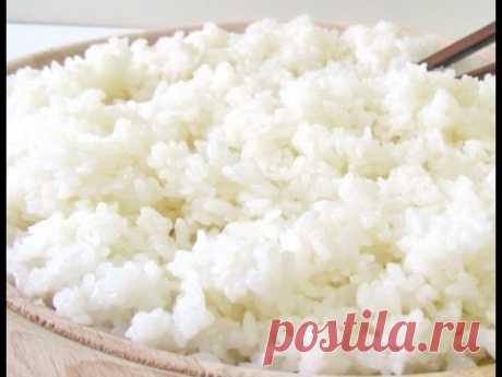 Как приготовить рис для суши и роллов.
