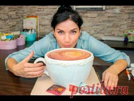 """3д la torta """"Чашка чая"""" \/ 3D cake """"Cup of tea"""" ¡- Mí - TORTodel!"""