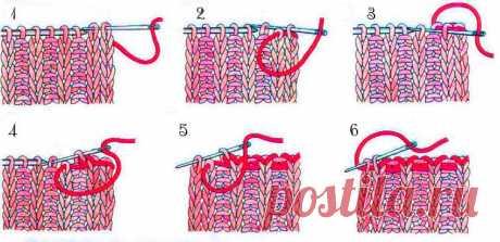 Два моих любимых способа закрытия иглой резинки 1 на 1 | Вязание спицами CozyHands | Яндекс Дзен