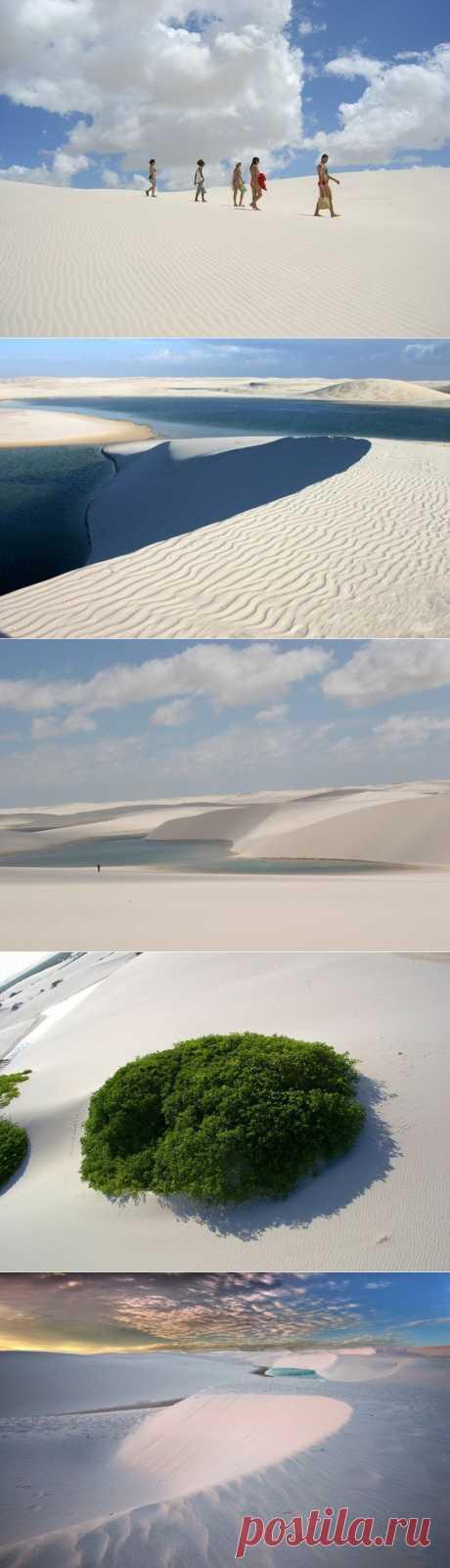 Белые пески Ленсойс Мараньенсес. Бразилия | ТУРИЗМ И ОТДЫХ