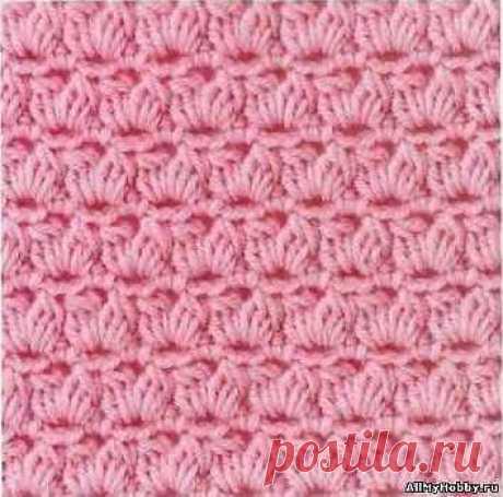 Узор для вязания крючком №53 - Вязание крючком. Узоры