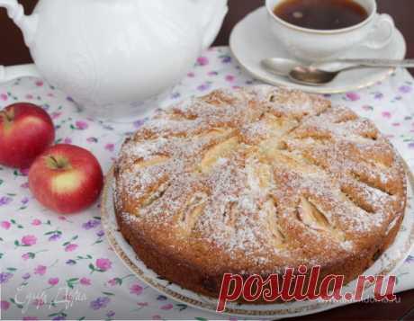 Итальянский яблочный пирог с изюмом | Официальный сайт кулинарных рецептов Юлии Высоцкой