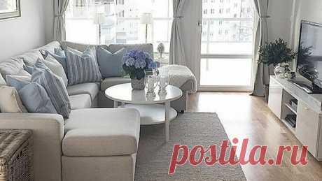 Небольшая гостиная в современном стиле. 17 важных особенностей и рекомендаций по дизайну (+эл. книга) | Дизайн интерьера и обустройство | Яндекс Дзен