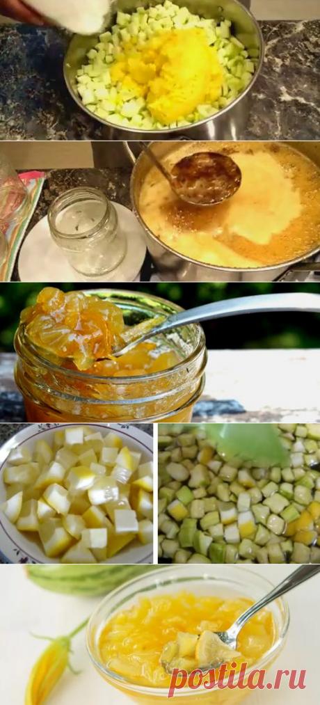 Варенье из кабачков с лимоном и апельсином на зиму: ТОП-4 рецепта. Классическое, с лимоном кусочками,  с  цукатами, в мультиварке