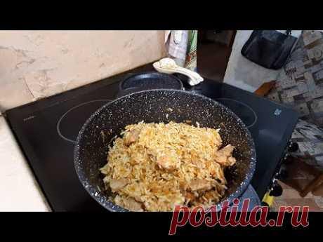 #Еда_диабетика_тип2 ПЛОВ из бурого риса. И про новую посуду.