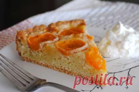 Немецкий пирог с абрикосами