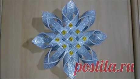 Stella di Natale /Decorazioni natalizie/Christmas Star / Christmas decor/Diy crafts idee/اعمال يدويه