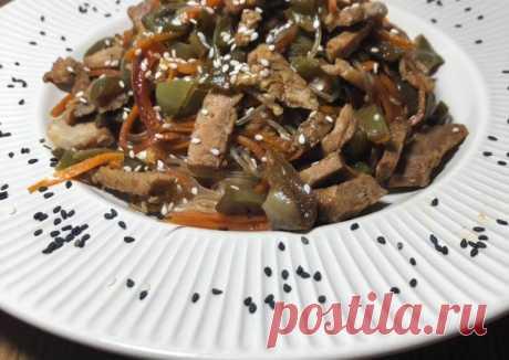 (11) Азиатская лапша с говядиной - пошаговый рецепт с фото. Автор рецепта @katerina_krivoklub . - Cookpad