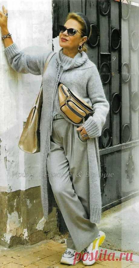 Современные и стильные вязаные проекты Светланы Волкодав из журнала Мод Вязание | Ирина СНежная & Вязание | Яндекс Дзен