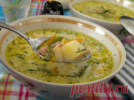 Сырный суп с фаршем и луком-пореем - БУДЕТ ВКУСНО! - медиаплатформа МирТесен