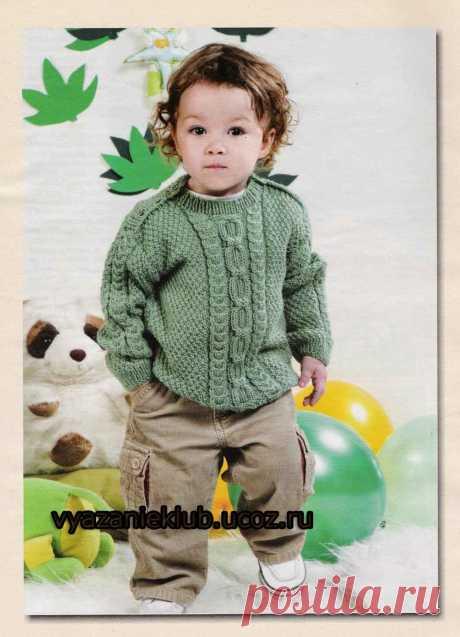 Джемпер - Для детей до 3 лет - Каталог файлов - Вязание для детей