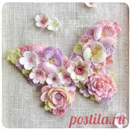 Цветы вязаные   Записи в рубрике Цветы вязаные   Дневник Enigmatica