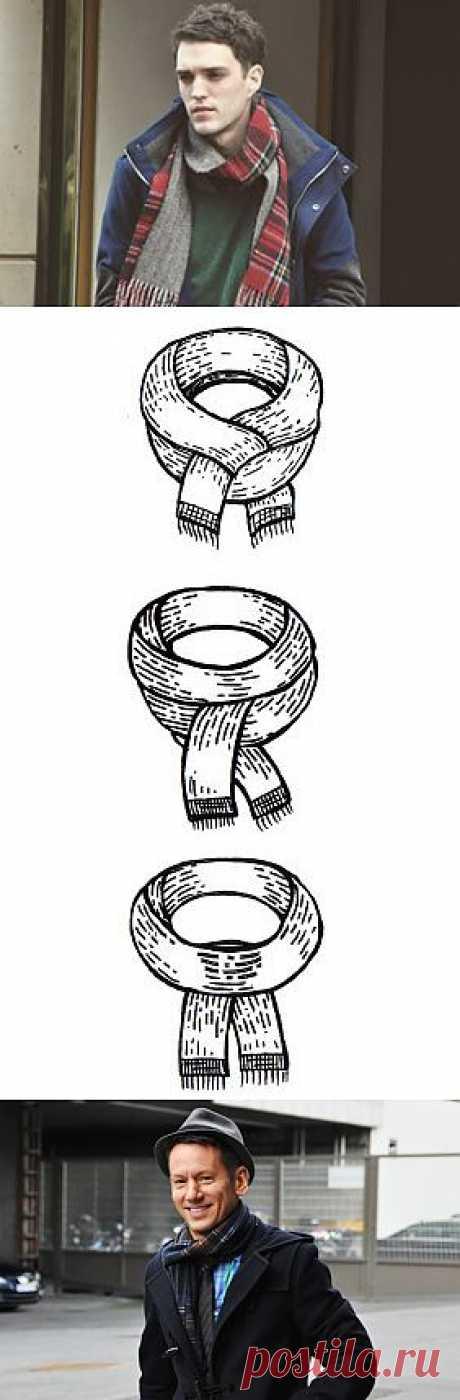 How to: Как завязать шарф — FURFUR — FURFUR — поток «Советы»