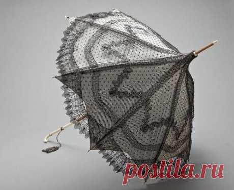 Los paraguas encantadores del siglo 19
